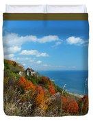 Breathtaking Bluffs _ Scarborough Bluffs Duvet Cover