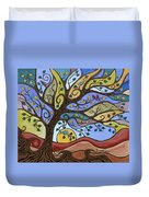 Breeze Among The Branches Duvet Cover