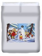 Brer Rabbit From Once Upon A Time Duvet Cover