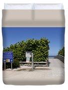 Brevard County Florida Beaches Duvet Cover