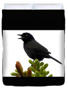 Brewer's Blackbird Duvet Cover