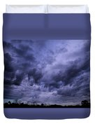 Brewing Storm Duvet Cover