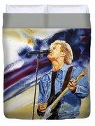 Rock On Duvet Cover