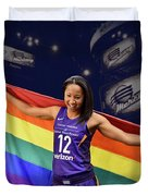 Briann January Lgbt Pride 2 Duvet Cover