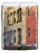 Brick Alley Duvet Cover