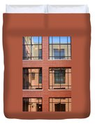 Brick Building Duvet Cover