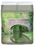 Brick Canal Bridge  Duvet Cover