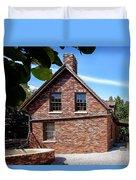 Brick House Duvet Cover