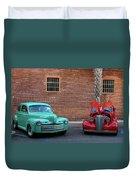 Brick Parking  Duvet Cover