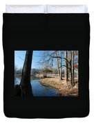 Brick Pond Park Duvet Cover