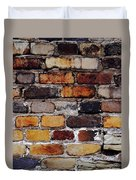 Brick Wall Duvet Cover by Tim Good