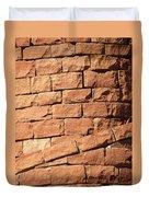 Bricks Spiraling Duvet Cover