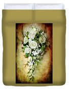 Bridal Bouquet Duvet Cover by Meirion Matthias