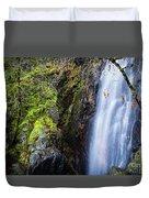 Bridal Veil  Falls 3 Duvet Cover