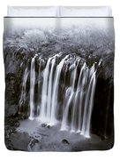 Bridal Veil Falls - Havasu Canyon Arizona C. 1900 Duvet Cover