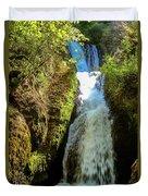 Bridal Veil Falls, Oregon Duvet Cover