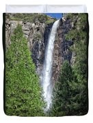 Bridalvail Fall And Raven Duvet Cover