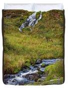 Brides Veil Waterfall Duvet Cover