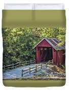 Bridge Across Time Duvet Cover