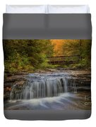 Bridge And Falls Duvet Cover