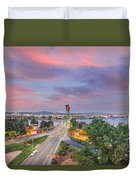 Bridge Closure Duvet Cover