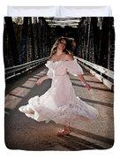 Bridge Dancer Duvet Cover