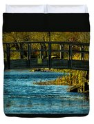 Bridge For Lovers Duvet Cover