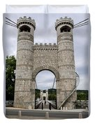 Bridge La Caille - Rhone-alpes Duvet Cover