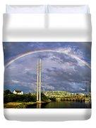 Bridge Of Hope Duvet Cover