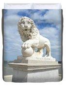 Bridge Of Lions II Duvet Cover