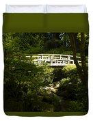 Bridge Of Peace Duvet Cover