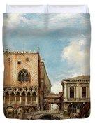 Bridge Of Sighs, Venice Duvet Cover