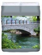 Bridge On The Niagara River Duvet Cover