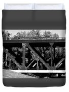 Bridge On The Waterfront Duvet Cover