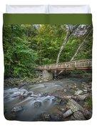Bridge Over The Pike River Duvet Cover