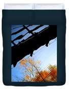 Bridge Over The River Sky Duvet Cover