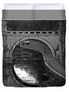 Bridge Over The Tiber Duvet Cover