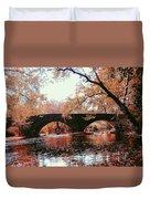 Bridge Over Yellow Breeches Creek Duvet Cover