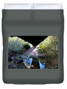 Bridge Puzzle Duvet Cover