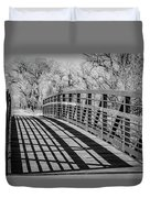 Bridge Shadows Duvet Cover