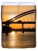 Bridge Sunrise 1 Duvet Cover