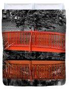 Bridge The Gap Duvet Cover