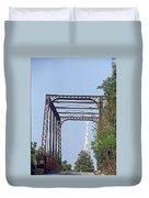 Bridge To God Duvet Cover