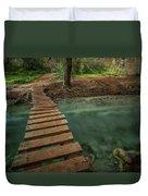 Bridge To Paradise Duvet Cover