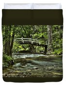 Bridge To Serenity Duvet Cover