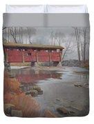 Bridge To Sleepy Hollow Duvet Cover