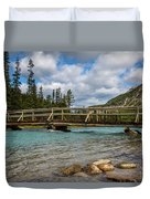 Bridge To The Other Side Duvet Cover