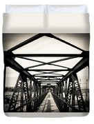 Bridge To The Past Duvet Cover