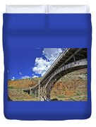 Bridge To Yesteryear Duvet Cover