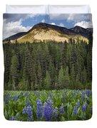Bridger Teton National Forest Duvet Cover